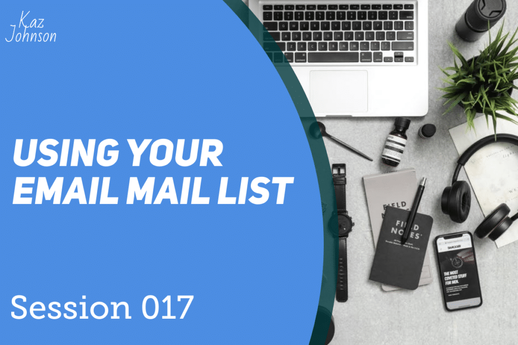 Using your email mail list