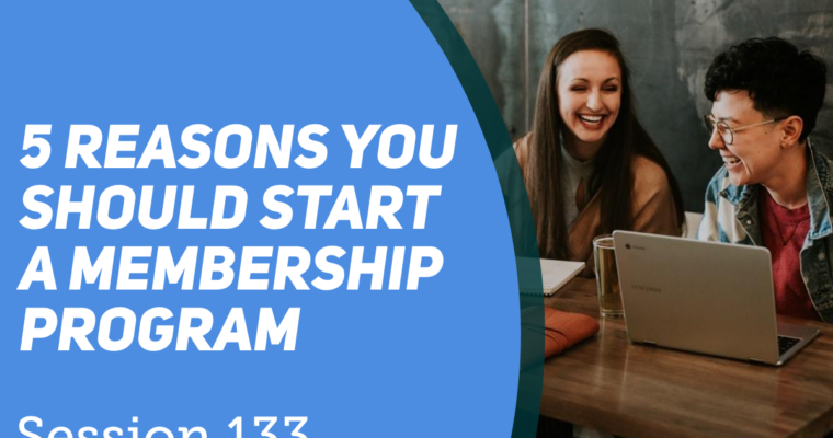 5 Reason to start a member site