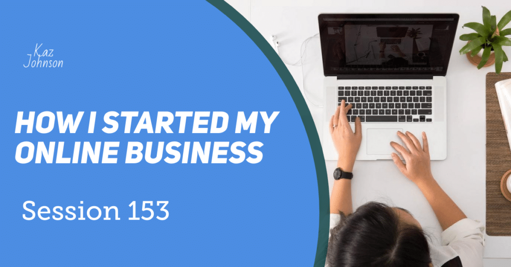 How I started my own online business