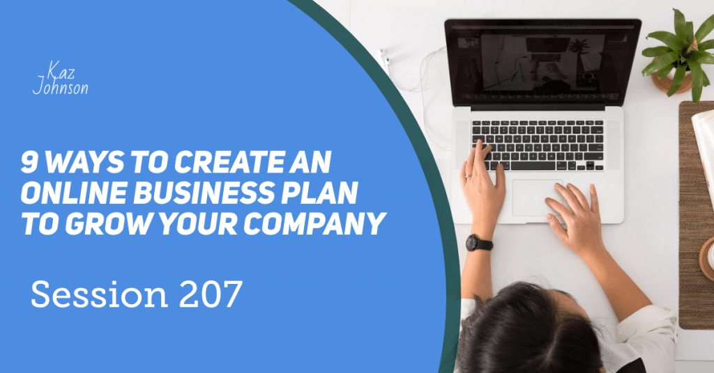 9 ways to create an online business plan