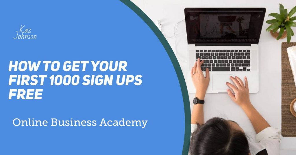 email sign ups